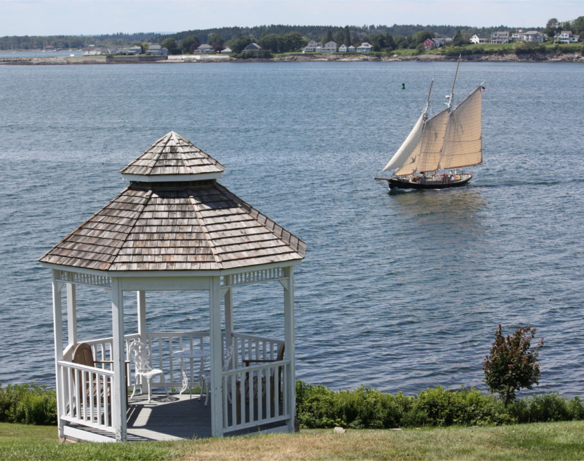Sea Escape Gazebo and Schooner ALERT